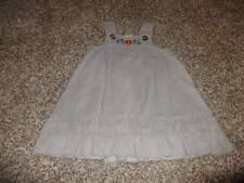 Nwot New Hanna Andersson 90 Gray Dress
