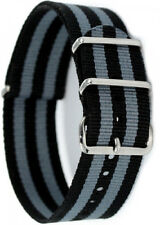 PRAETORIAN® NATO Armband James Bond Style 24mm Textilarmband Durchzugsarmband