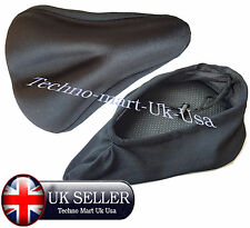 Quality Bicycle Cycle Extra Comfort Gel Pad Cushion Cover for Saddle Seat Comfy