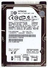 "Hitachi Travelstar E5K160 HTE541660J9AT00 0A52380 60Gb 5400RPM ATA 2.5"" HDD NEW"
