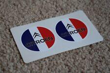 CITROEN Sport Racing Motorsport Race Car Race Decal Stickers Flag 100mm