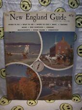 The New England Guide, Annual 1959-1960. Maine, Vermont, New Hampshire, RI MA CN