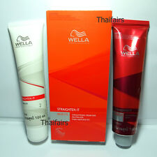 WELLA PERMANENT STRAIGHT COLOR HAIR CREAM - SYSTEM MILD for coloured, highlight