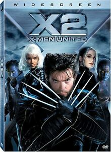 Like New DVD X-Men 2 United Patrick Stewart, Hugh Jackman, Halle Berry WS