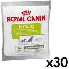 30 x Royal Canin Educ Dog Puppy Training Reward Snack Treat - Low Calorie - 50g