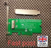 Adapter Card to PCI-E 4X For Appl 2013-2015 MacBoo Air Pro MD712 SSD UK Seller