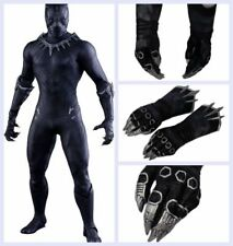 XCOSER Black Panther Claw Gloves Cosplay Props Captain America Civil War Movie