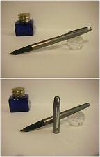 Stilografica HERO gray satin  Fountain pen for our young boys - Nib MF