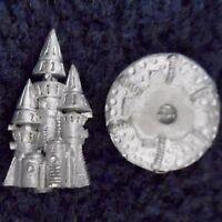 1993 Epic Chaos Silver Tower of Tzeentch War Machine Citadel Warhammer 6mm 40K