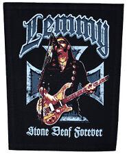 MOTÖRHEAD - Rückenaufnäher Backpatch Lemmy Stone Deaf Forever