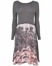 Woolen Long Sleeve Jumper Dresses for Women