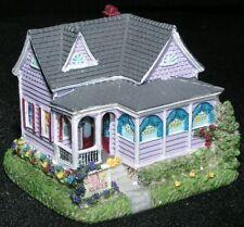 Liberty Falls Mini Porcelain Village House Palm Reader Cottage Rr N Scale Mint