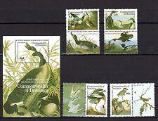 Dominica 1986 Birds MNH Mi.979-82 Bl.111 with coupon  (cv 22)