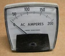 Yokogawa 250340lsrl7 Panel Meter 0 200 Ac Amperes