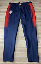 Nike Player Issue USA AeroSwift Soccer Therma Training Pants Women's LARGE USWNT