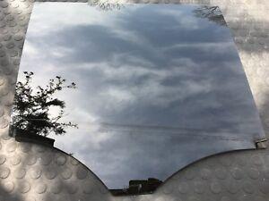 MERCEDES BENZ GL350 DOOR WINDOW GLASS REAR RIGHT BLACK AND FOIL