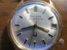 Bulova Accutron Tuning Fork Mens Watch Exc Condition