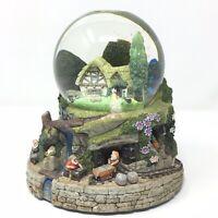Disney Snow White and the 7 Dwarfs Dwarf Musical Snow Globe HI HO HI HO