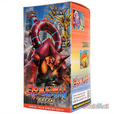 Carte Pokemon Offensive Vapeur Explosive Fighter 30 Boosters Display Box Coréen