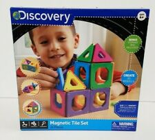 Discovery Kids Magnetic Tile Building Set 24 Piece, Qty Discount