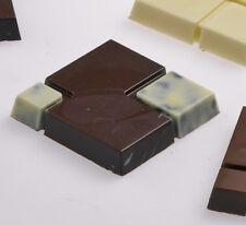 Martellato Polycarbonate Chocolate Mold Square 58x58mm x 10mm High, 8 Cavities