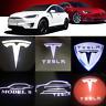 2pcs LED Door Projector Logo Light welcome light  Tesla MODEL S MODEL X MODEL 3