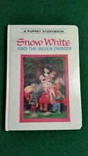 3-D Snow White A Puppet Storybook Illustrated by Izawa & Hijikata 1968 Japan