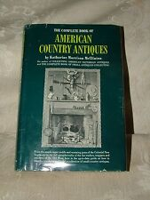 SCARCE First 2nd Printing 1967 American Country Antiques Katherine McClinton DJ