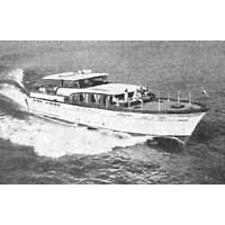 Bauplan Constellation 1960 Modellbau Modellbauplan Kabinenkreuzer