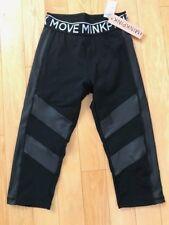 Mink Pink Move Black Capri 3/4 Women's Leggings Size Small New w/Tags Free Ship