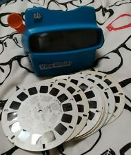 View Master 10 Reels Disney Movies Fox and Hound Snow White Cinderella+ more VG