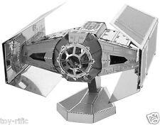 METAL Earth Star Wars 3D METAL MODEL KIT Darth vaders TIE FIGHTER-NUOVO e SIGILLATO