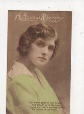 Gladys Cooper Actress Vintage Postcard 476a