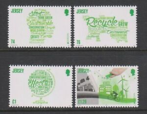 """Jersey - 2016, Europa, """"Think Green"""", Recycle set - MNH - SG 2057/60"""