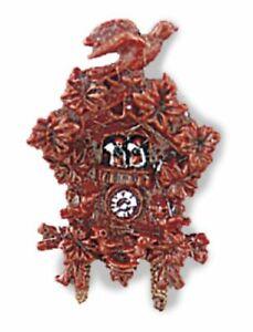 Reutter Porcelain - Dollhouse Miniature Black Forest Clock