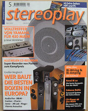 Stereoplay 5/00 b&w CDM 7, Revel Performa m20, MARANTZ PM 6010, SONY TA-FB 740 R