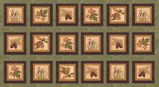 "MODA Fabric Panel ~ FALL IMPRESSIONS FLANNEL ~ Holly Taylor 24"" X 45"" (6700 18F)"