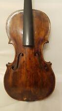 Sehr Alte Vier Viertel Geige Mit Kasten Und Bogen