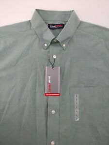 TRAVEL SMART ROUNDTREE & YORKE MEN'S SIZE LARGE SHIRT NEW EASY CARE