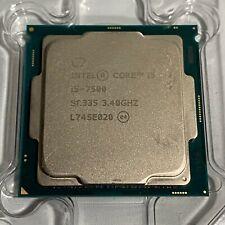 Intel Core i5-7500 3.40GHz Quad-Core CPU Processor SR335 LGA1151 Socket