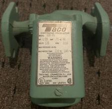 Taco 008-F5 Hot Water Circulator Pump,1/25 Hp, 115v, 3250rpm, 125psi, Used