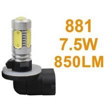1PC 7.5W H27 881 12V Bright White LED Fog Headlight Lights Bulb lamp with Lens