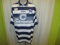 "Hertha BSC Berlin Original Adidas Heim Trikot 1997/98 ""Die Continentale"" Gr.XL"