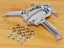Chrome Lifter Block Cover Tappet Accent for Harley Twin Cam Touring 1999-up
