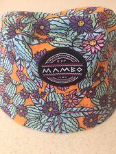 Mambo Girls Toddler Hat Beach Flowers Print OSFA Bnwt