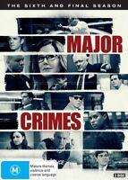 Major Crimes : Season 6 (DVD, 3-Disc Set) NEW