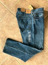 Polo Ralph Lauren Mens Jeans 33 x 32 Thompson Relaxed Fit Stanton Wash NWT