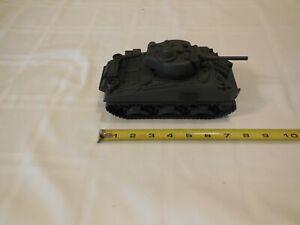 Plastic Sherman Tank. BMC toys. 1:32 scale.