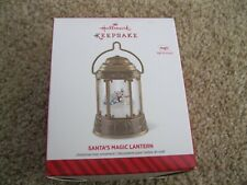 2014 Hallmark Ornament - Santa's Magic Lantern - Magic with Light & Sound - New