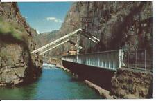 Hanging Bridge - Royal Gorge, Colorado - Unposted 1960s